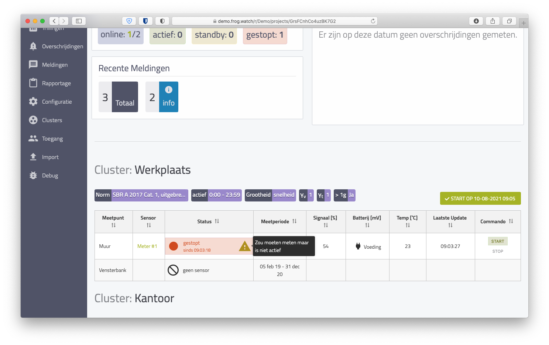 Activity Check Screenshot